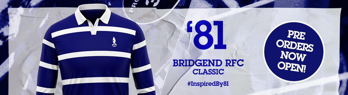 Bridgend Ravens '81 Jersey