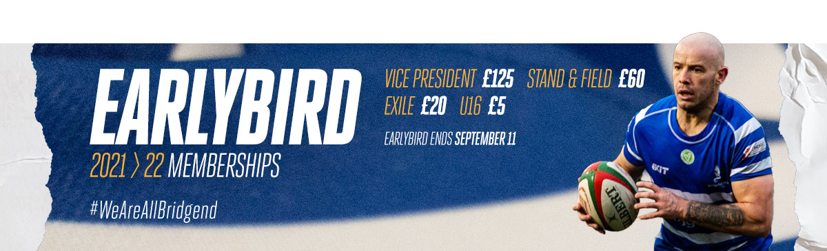 Bridgend Ravens 2021/22 Membership